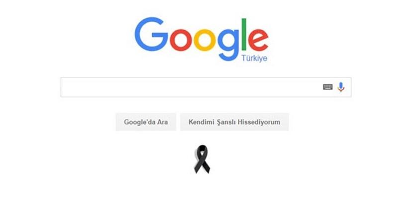 google-siyah-kurdela